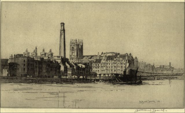 Ref No: 020 Title: Westminster from Lambeth