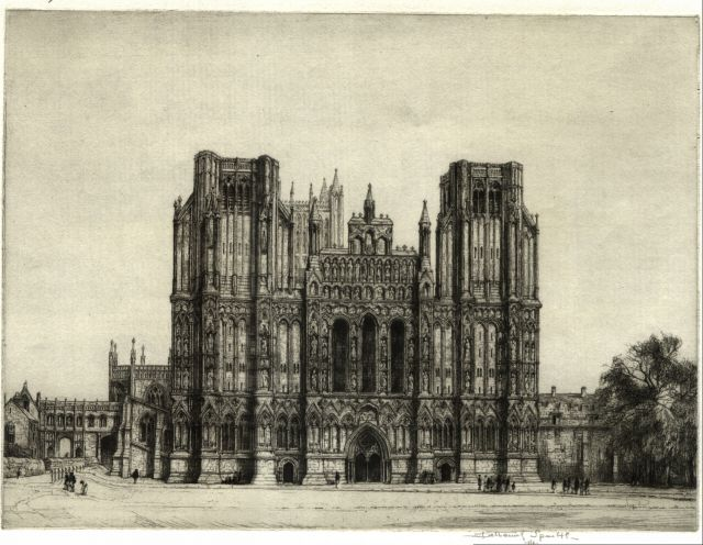 Ref No: 070 Title: Wells Cathedral (Small)